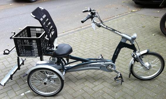 Dreirad mit Elektromotor nachrüsten