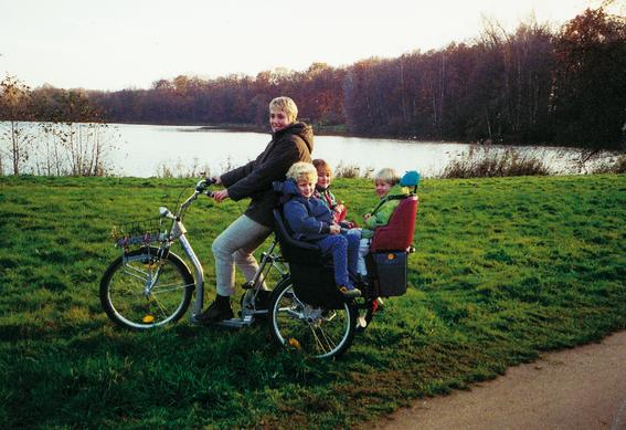 Dreiräder für Familien