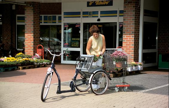 Dreirad Pfau Tec Classic: Die Alternative zum Velo bei Gleichgewichtsproblemen