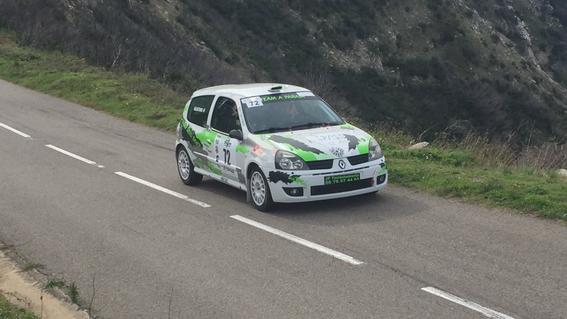 Lors du Rallye du Nebbiu ce week end