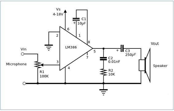 amplificatori con lm386