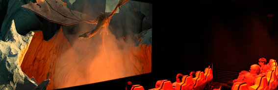 """Dragon Ride"" la plus spectaculaire des animations (en 3D)"