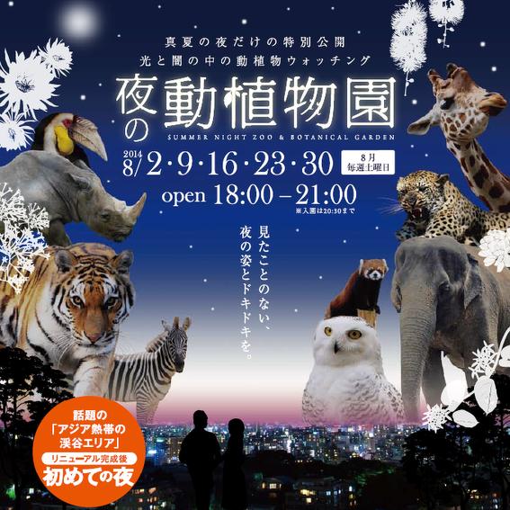 福岡市動物園のチラシ