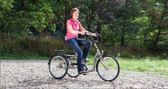 Pfau Tec Comfort: Ein Dreirad mit ergonomischem Fahrgefühl
