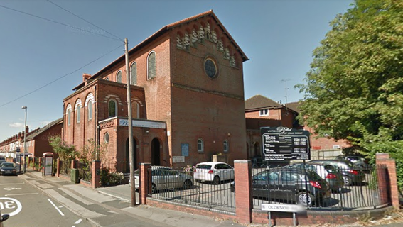 Former St Gregory the Great church - image from Google Streetview
