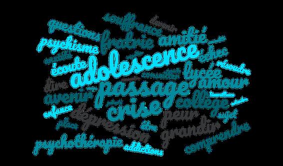 Psychologue et adolescent