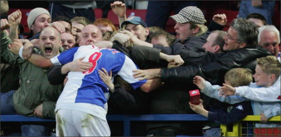Blackburn Rovers; Blackburn Rovers fans; Robbie Savage