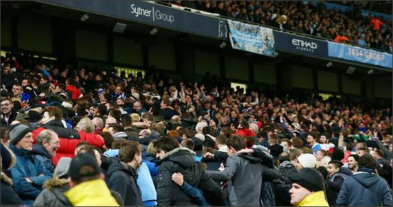 Blackburn Rovers; Manchester City; Blackburn Rovers fans