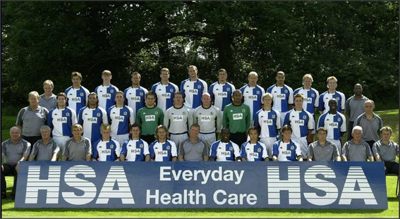 Blackburn Rovers: 2003-2004