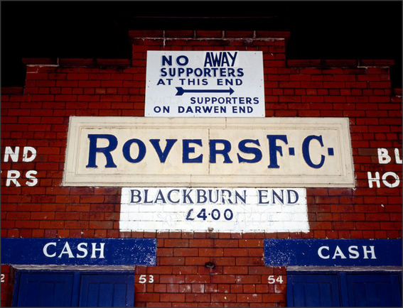 The Blackburn End; Ewood Park