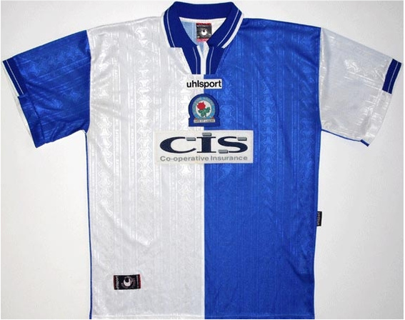 Worn when Rovers were relegated from the Premier League.