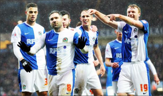 Blackburn Rovers; Rudy Gestede, David Dunn, Grant Hanley, Matt Killgallon, Chris Taylor