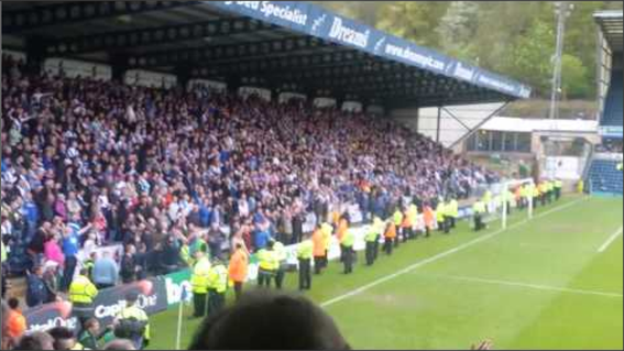 Blackburn Rovers; Wycombe Wanderers; Blackburn Rovers fans