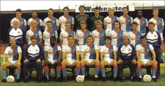 Blackburn Rovers: 1989-1990