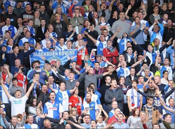 Blackburn Rovers; Liverpool; Blackburn Rovers fans