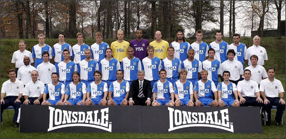 Blackburn Rovers: 2004-2005