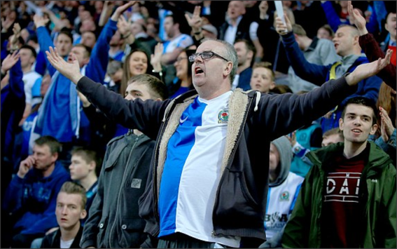 Blackburn Rovers; Blackburn Rovers fans