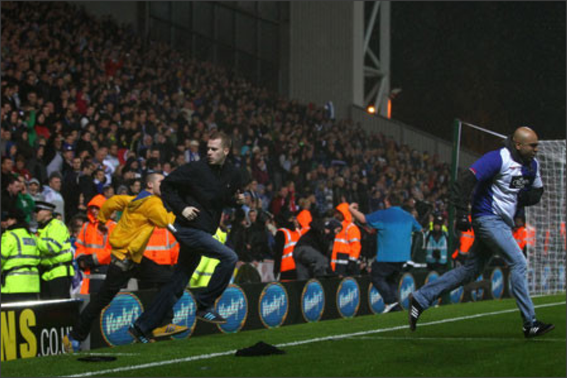 Blackburn Rovers; Blackburn Rovers fans; Ewood Park; Venkys