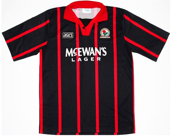 Classic design away shirt as during Rovers Premiership title winning season.