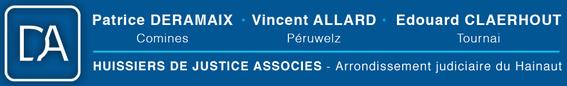 logo de huissiers associés Deramaix Allard Claerhout