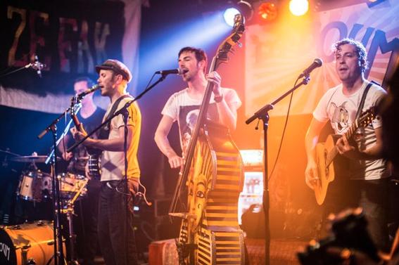 La Boum  - Ein wilder Mix aus Ska, Folk, Gypsy und Rockabilly!