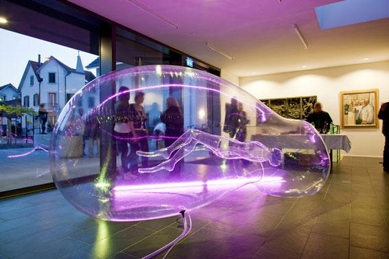 Victorine Müller, Erdling, 2009, Installation 2010, Foto: J. Etter