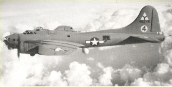 "B-17 Flying Fortress ""Dottie"" call sign Mickey 4"