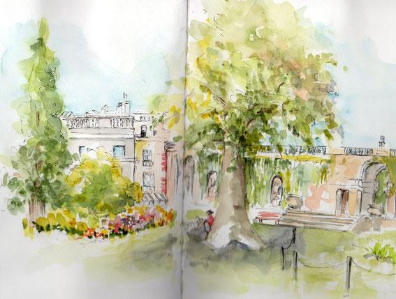 Jardin public côté Jardin