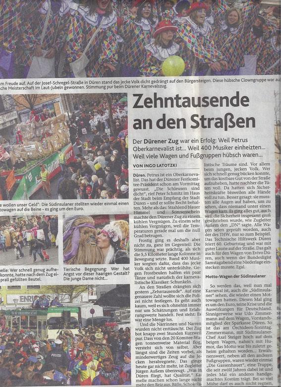 aus Dürener Nachrichten vom 11.02.2013