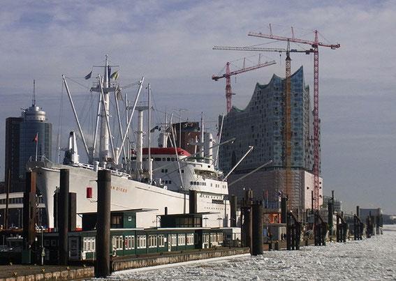 Philharmonie Hamburg im Bau