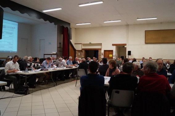 CARCT. Le Conseil Communautaire en réunion à Condé-en-Brie.