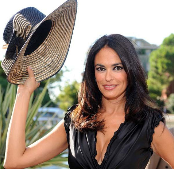 Maria Grazia Cucinotta a famous Sicilian actress