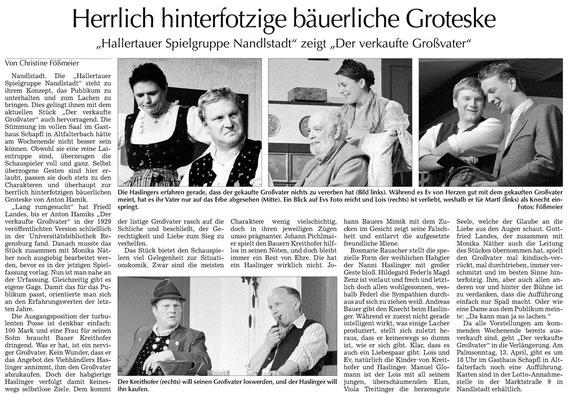 Quelle: Moosburger Zeitung 03.04.2014