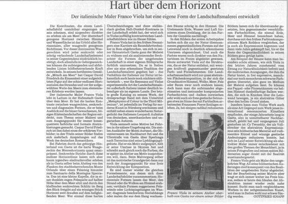 Süddeutsche Zeitung v. 13. Dezember 2011