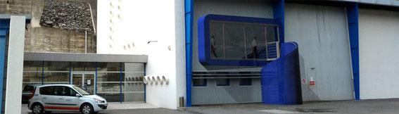 2011 - création d'une salle de réunion au barrage de Serre-Pondataire - chantier en cours - livraison T1 2012 - MO: EDF - Surface: 80m² SHON - Budget: 150 000 € HT