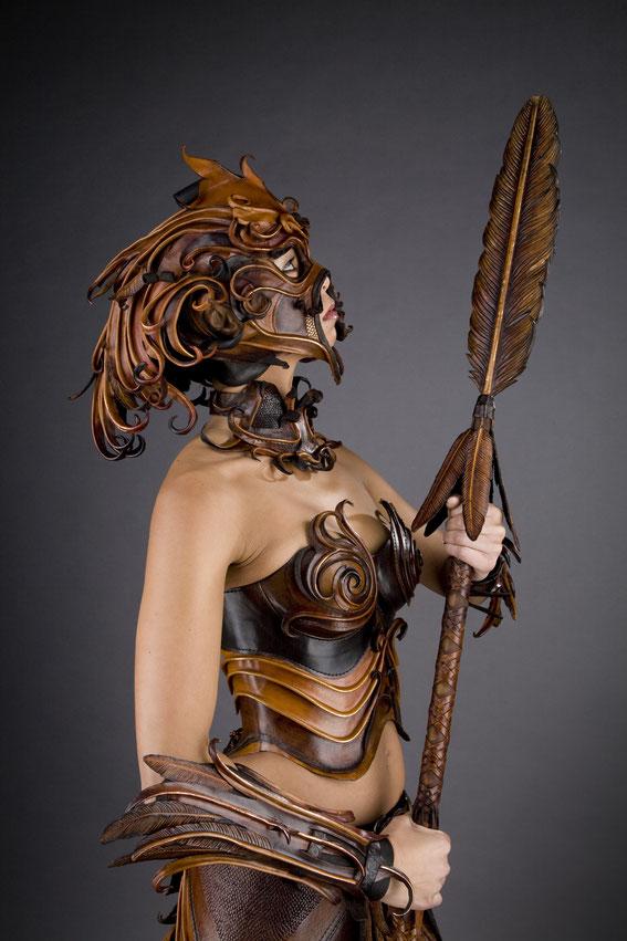 Ornitho-Maia-  photographer: Simon Godsiff, model: Caroline Thio, makeup: Emily Jane Sturrock