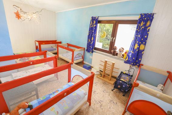 Kindertageststätte Jena Schlafbereich