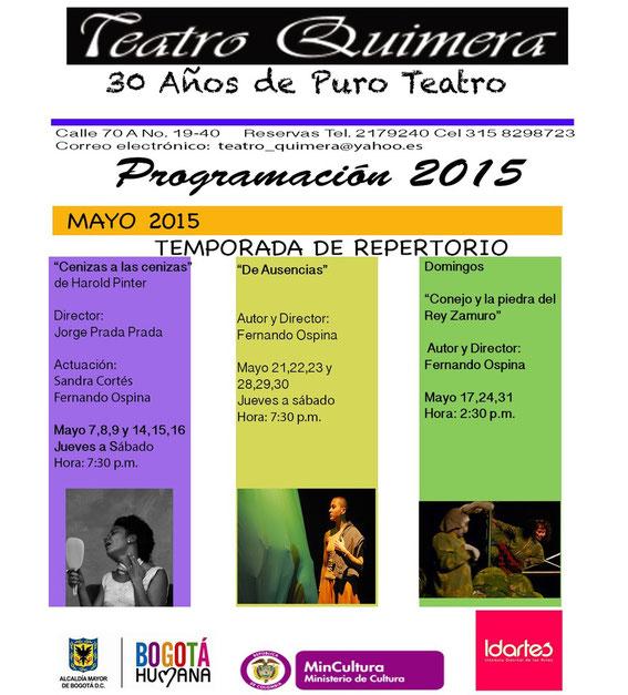 Temporada Teatro Quimera