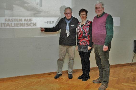 Karl J. Mayerhofer, GGR Elfi  Schneider Schwab, Bgm. Paul Horsak