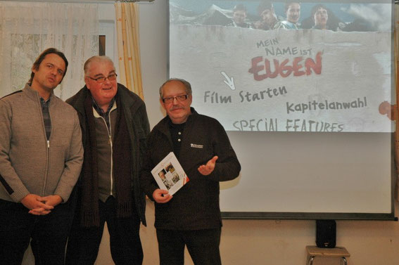 Stefan Buger, Manfred Abriel und Karl J. Mayerhofer