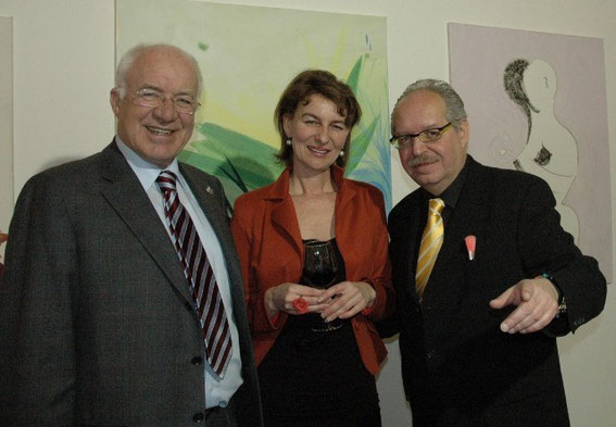DDr. Herwig van Staa, Carmen Stölz, Karl J. Mayerhofer