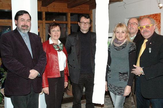 Georg Schück, Elfi Schneider Schwab,  Ru Krieger, Mag. Silvia Schweighofer, Manfred Schweighofer, Karl J. Mayerhofer