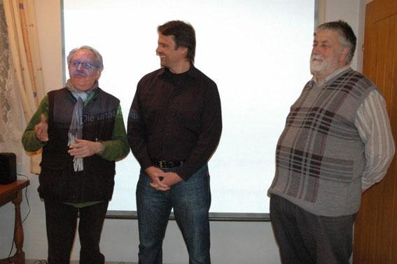 Karl J. Mayerhofer, Stefan Buger, Franz Tisch-Grubwieser