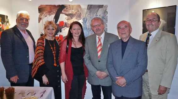 Bgm. Paul Horsak, Mag. Silvia Schweighofer, Christina Steinwendtner, Friedrich Ucik, STR. Manfred Schweighofer