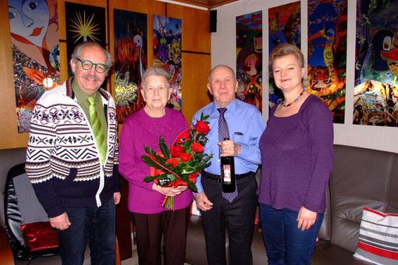 Karl J. Mayerhofer, Christine und Friedrich Weinauer und Regina Mayerhofer