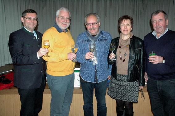Johann Dill, Paul Horsak, Karl J. Mayerhofer, Eli Schneider Schwab Franz Hofbauer