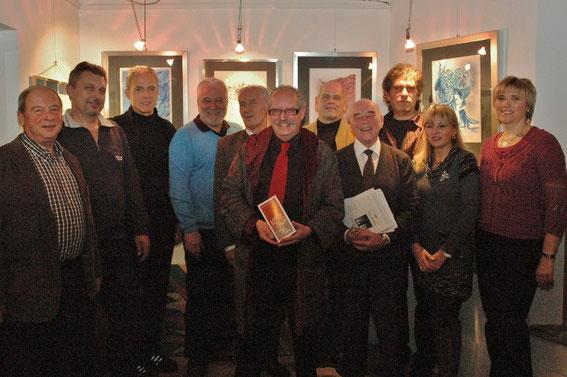 Fritz Ucik, der Männgergesangsverein MEN, Bgm. Paul Horsak, Mag. Silvia Schweighofer, Christine Dill, Karl J. Mayerhofer