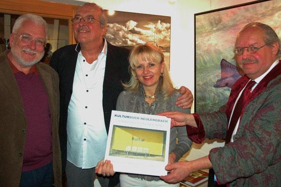 Bgm. Paul Horsak, Peter Korrak, Mag. Silvia Schweighofer, Karl J. Mayerhofer