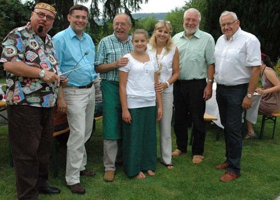 Karo - Robert Kaldy, Hans Dill, Sophie & Karl J. Mayerhofer, Mag.Silvia Schweighofer, Bgm. Paul Horsak, NR. Johann Hell