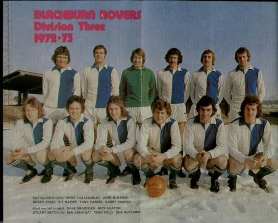 Blackburn Rovers: 1972-1973